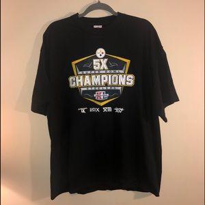Pittsburgh Steelers  Super Bowl champion T shirt